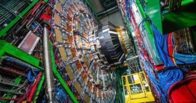 Ein bunter Teilchenbeschleuniger