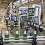 Abfüllanlage eines Herstellers für flüssige Detergenzien