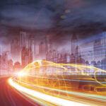 Das Automobil der Zukunft im urbanen Umfeld, entwickelt von den besten Ingenieuren.
