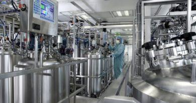 Anlagen in der chemischen Produktion