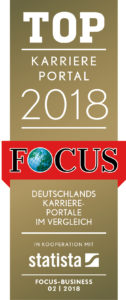 Siegel Focus Top Karriereportal 2018