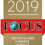 Gütesiegel Focus-Business Top Karriereportal 2019