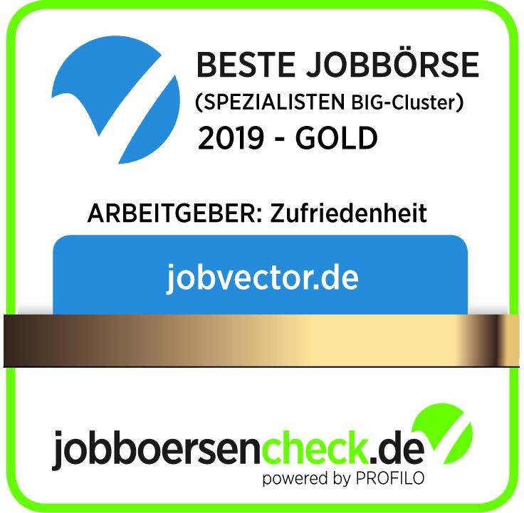jobvector ist auch in 2019 Deutschlands beste Spezialjobbörse