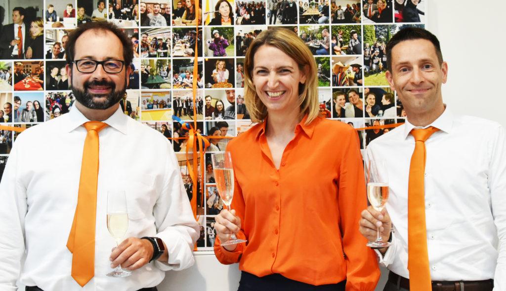Anlässlich ihres 20-jährigen Jubiläums wird die Capsid GmbH zur jobvector GmbH