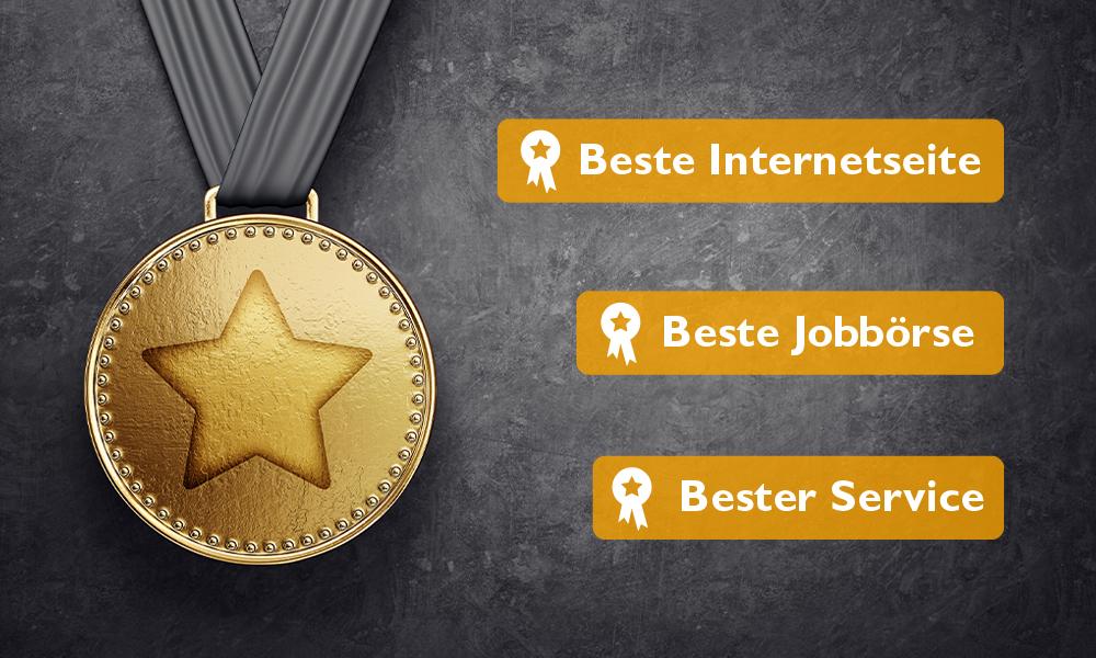 """FOCUS-Studie """"Die Besten Jobbörsen"""": jobvector als Testsieger ausgezeichnet"""