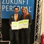 jobvector CEOs Dr. Eva Birkmann und Tom Wiegand