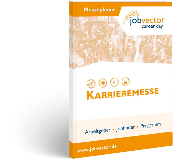 Messeplaner für die karrieremesse jobvector career day